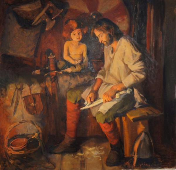 Ксения Баранова. Первый меч