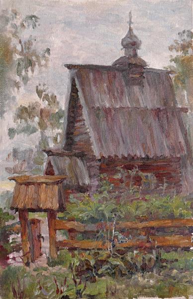 Ксения Баранова. Этюд