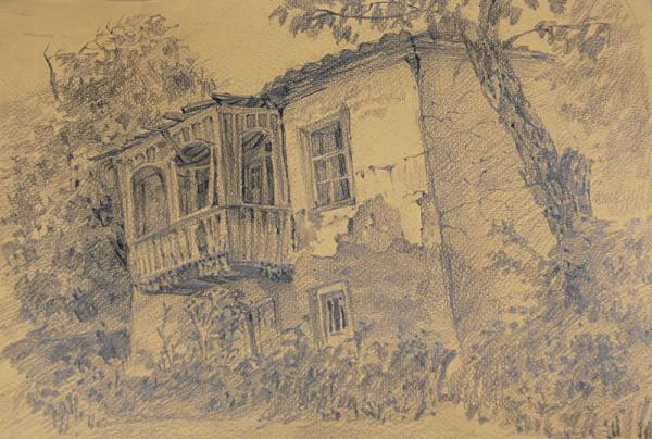 Ксения Баранова. Старый дом