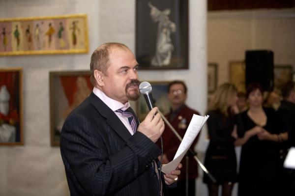 Ксения Баранова. Председатель Молодежного объединения ТСХ России П.П.Козорезенко-открытие