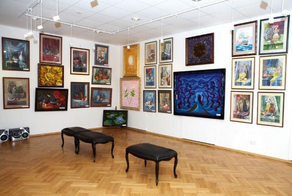 Ксения Баранова. Мои работы на выставке.