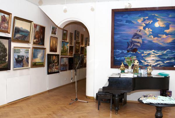 Ксения Баранова. Экспозиция выставки