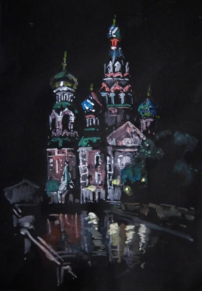 Ксения Баранова. Спас на Крови