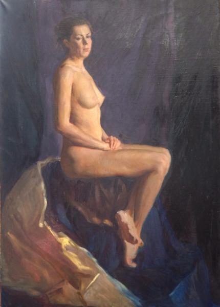 Ксения Баранова. Женская обнаженная модель
