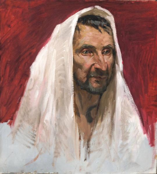 Ксения Баранова. Этюд для Библейской истории
