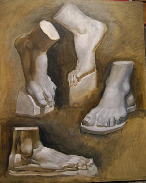 Ксения Баранова. стопы ног