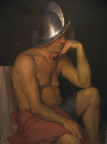 Ксения Баранова. Постановка в испанском шлеме