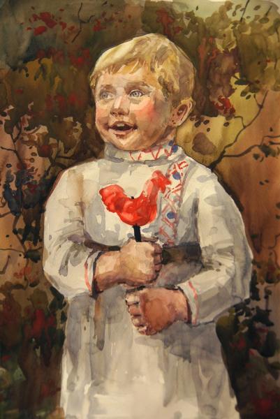 Ксения Баранова. Дедушка в детстве
