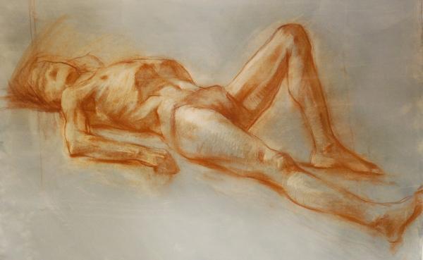 Ксения Баранова. Рисунок в ракурсе