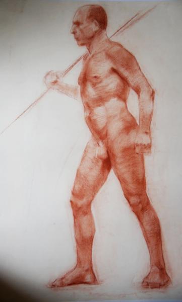 Ксения Баранова. короткий рисунок в движении