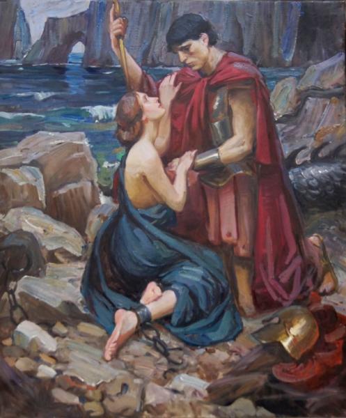 Ксения Баранова. Персей и Андромеда