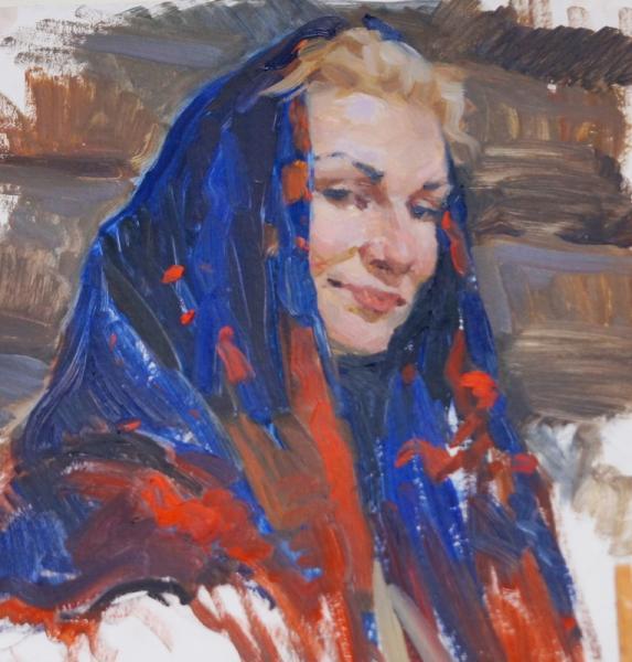 Ксения Баранова. Бойкая молодка