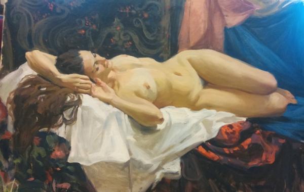 Ксения Баранова. Обнаженная модель