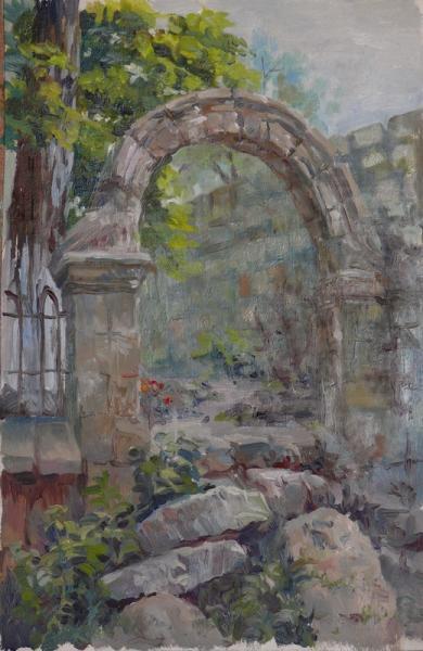 Ксения Баранова. Руины